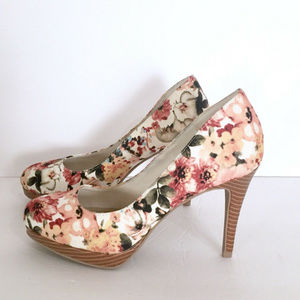 Christian Siriano Payless Floral High Heels Shoes